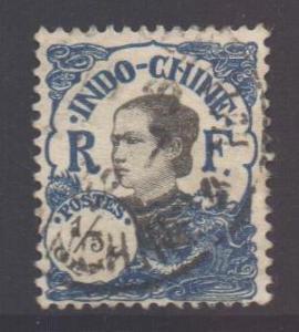Indo-China SG116, 1922 Annamite 1/5c used