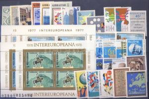 Thematic lot stamp MNH 27 divers stamp + block WS68883