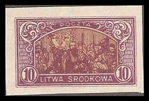 Central Lithuania 41 Mint VF HR