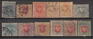 Lithuania 1919 Sc 32//60 Used