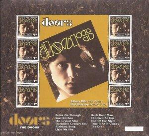 St Vincent - 1997 The Doors - Complete Set of 6 8 Stamp Sheets #2503-8