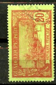 GUADELOUPE, yr.1905-1927: VIEW OF LA SOUFRIERE, #63  ,U