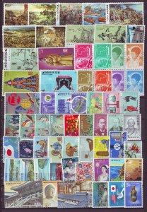 Z821 JLstamps south korea & ryukyus most mh/mnh stamps