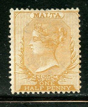 Malta # 3, Mint No Gum. CV $ 90.00.  A(22)