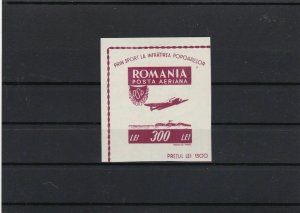 romania mounted mint stamps sheet   ref r8840