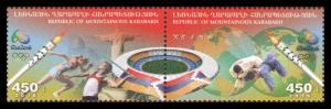 Nagorno karabakh Armenia 2016 Rio olympics games 2v MNH