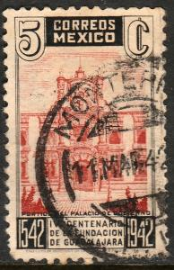 MEXICO 772, 5c 400th Anniv of Guadalajara. Used. VF. (719)
