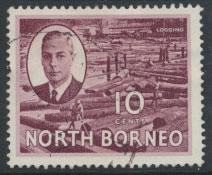 North Borneo  SG 362 SC# 250 used   see scan