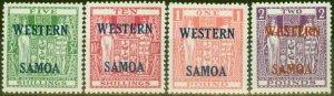 Western Samoa 1955 set of 4 SG232-235 V.F MNH