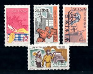 [93684] Vietnam North 1970 Industry Transport Truck Electricity  MNH