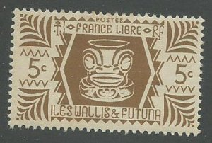 Wallis & Futuna Scott Catalog Number 127 Issued in 1944