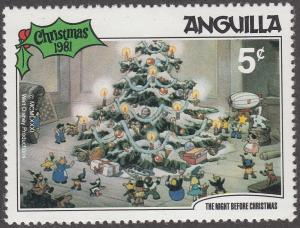 Anguilla #456 The Night Before Christmas MNH