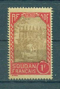 French Sudan sc# 87 mh cat value $.80