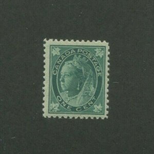 1897 Canada Postage Stamp #67 Mint Never Hinged F/VF