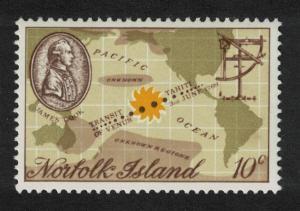 Norfolk Captain Cook Bicentenary 1st issue 1v SG#99 SC#122