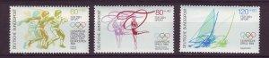 J24572 JLstamps 1984 germany set mnh #b620-2 sports