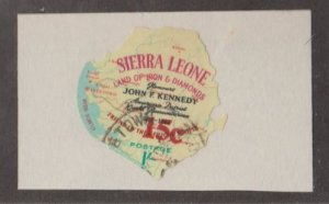 Sierra Leone Scott #293 Stamp - Used Single