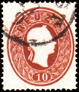 Austria Scott 15 Used.