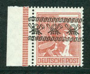 Germany Deutsche Post Scott # 614, mint hr, variation