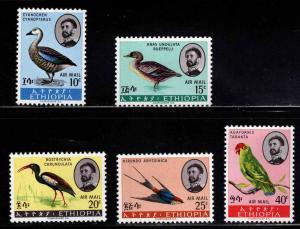Ethiopia Scott C107-C111 MNH** Bird set  CV$11.75