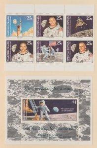 Marshall Islands Scott #232-238 Stamp - Mint NH Souvenir Sheet