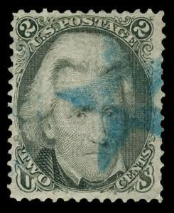 momen: US Stamps #93 Used VF/XF