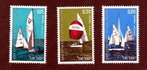 Israel MNH 419-21 Sail Boats