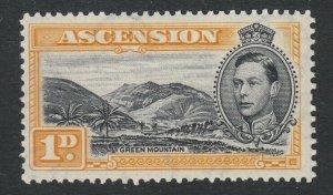 Ascension, SG 39a var, MLH Mountain Rill Flaw (Pos. R. 10/2)