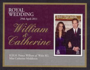 Virgin Islands Sc# 1146 MNH Royal Wedding (S/S)