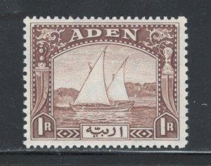 Aden 1937 Dhow 1R Scott # 9 MH