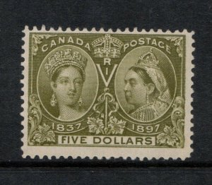 Canada #65 Mint Fine Never Hinged **With Certificate**