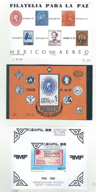 MEXICO USED GROUP SCV $130.00 AT 20% OF CAT VALUE !!!