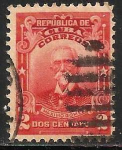 Cuba 1911 Scott# 248 Used