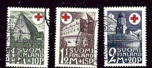 Finland B5-7 Used 1931 set