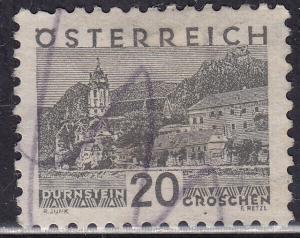 Austria 343 Hinged 1932 Durnstein 20g
