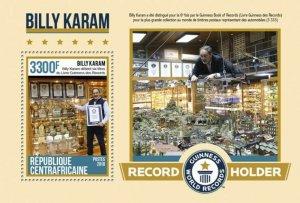 HERRICKSTAMP NEW ISSUES CENTRAL AFRICA Billy Karam S/S