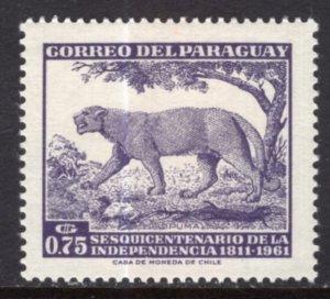 Paraguay 594 MNH VF