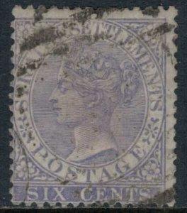 Straits Settlements #12  CV $22.50