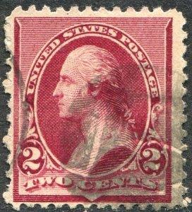 219D 2c Washington Used