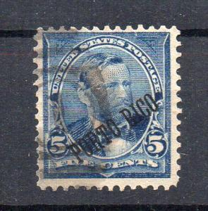 USA - PUERTO-RICO - 5ç - with marking - 1899 - Used -