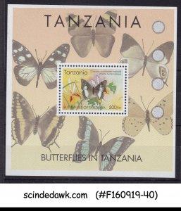 TANZANIA - 2005 BUTTERFLIES OF TANZANIA - MIN/SHT MNH