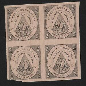Rare(Multiple) Honduras 1865 1st Issue Mint OG H - Guaranteed Genuine