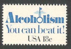 1927 Alcoholism US Single Mint/nh (Free Shipping)