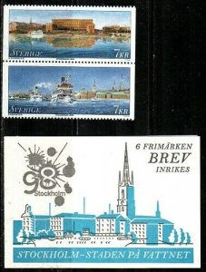 Sweden Scott 2281-8 Mint NH