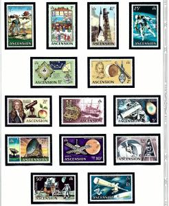 Ascension Is 138-51 MNH 1971 Man Into Space
