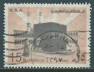 Saudi Arabia, Sc #693a, 15h Used