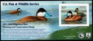 RW82A 2015 Federal Duck Stamp VFOGNH-Ebay Low Store Price-Ex-OFFER?
