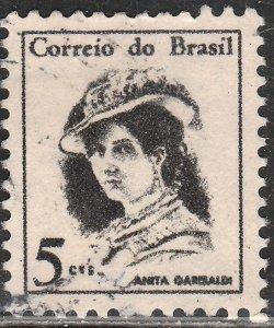Brazil 1039, 5c Anita Garibaldi. Used. (477)