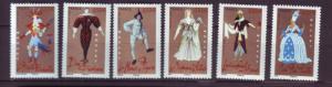 J20488 Jlstamps 2006 france set mnh #3213-18 costumes