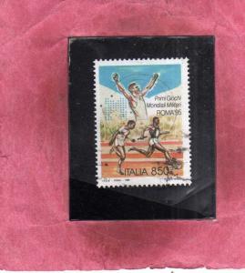 ITALIA REPUBBLICA ITALY REPUBLIC 1995 PRIMI GIOCHI MONDIALI MILITARI ROMA 95 ...